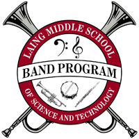 Laing Middle School Band - logo