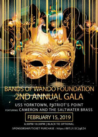 Bands of Wando Foundation 2nd Annual Gala poster