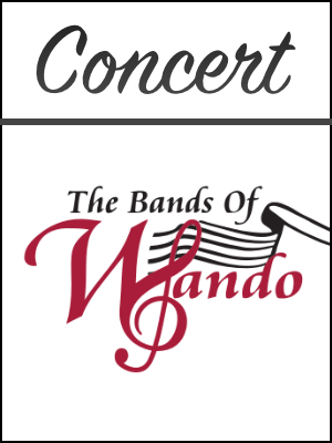 Wando concert poster image